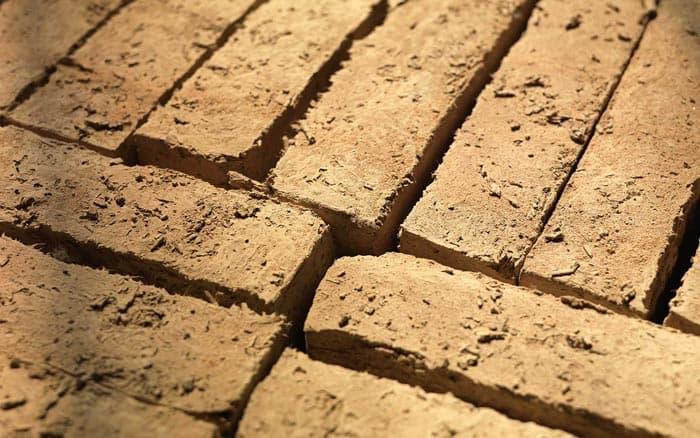 mattoni in terra cruda