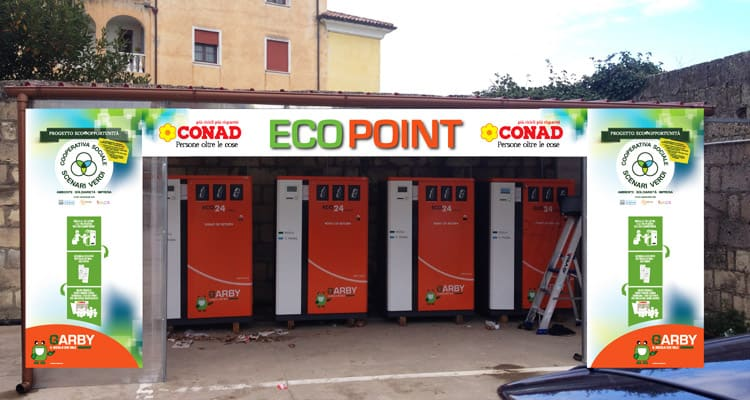 Servizio Eco-compattatori di Scenari Verdi