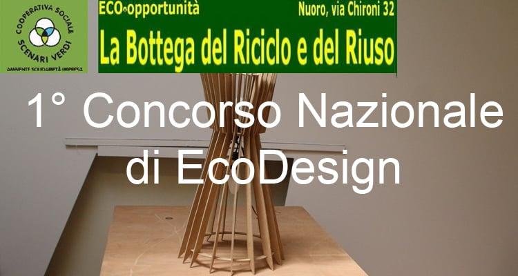 Primo concorso nazionale di EcoDesign